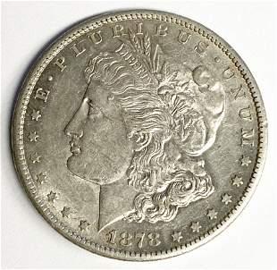 1878-CC CARSON CITY MORGAN SILVER DOLLAR AU58