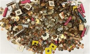 63 POUNDS!! RARE COIN COLLECTION