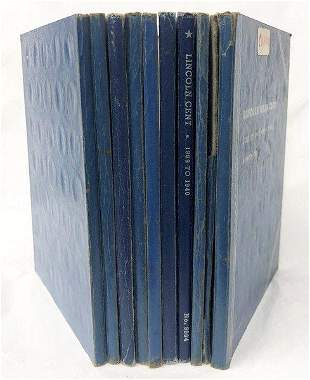 1909-S LINCOLN LATER DATE ALBUMS (689-COINS)