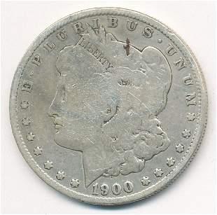 1900-O/CC VG CONDITION MORGAN SILVER DOLLAR