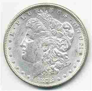 1878-S AU58 MORGAN SILVER DOLLAR