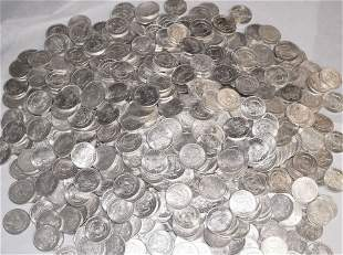 (100) 1921 MORGAN SILVER DOLLARS ALMOST MINT