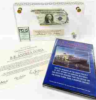 SUPER RARE PCGS SHIPWRECK CERTIFIED CURRENCY