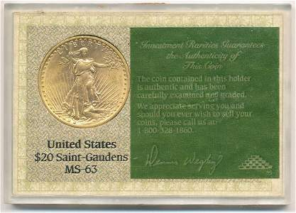 OLD TIME VINTAGE INVESTMENT RARITIES GRADING 1922 $20