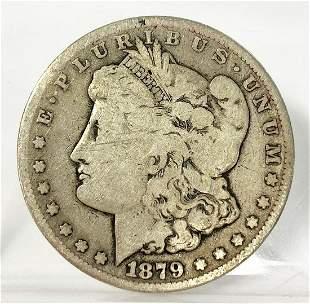 1879-CC MORGAN VG SILVER DOLLAR