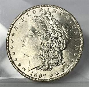 1897 MORGAN MS64 SILVER DOLLAR
