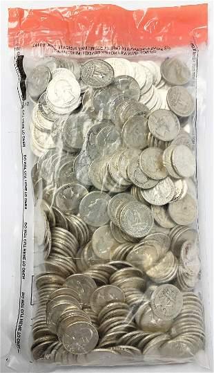 $100 FACE (400) PREMIUM 90% QUARTERS PRE-1965