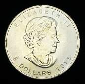 2013 $8 CANADA POLAR BEAR 1.5 OZ .9999 FINE SILVER