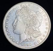 1890S MORGAN SILVER DOLLAR MS63 PL