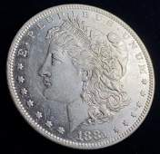 1881O MORGAN SILVER DOLLAR MS63
