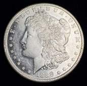 1888S MORGAN SILVER DOLLAR MS63