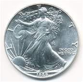 1988 AMERICAN SILVER EAGLE MS69
