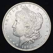 1878 8TF MORGAN SILVER DOLLAR MS63