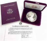 1990 Proof American Silver Eagle