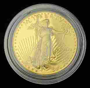 PROOF 1989 AMERICAN GOLD EAGLE PROOF 69