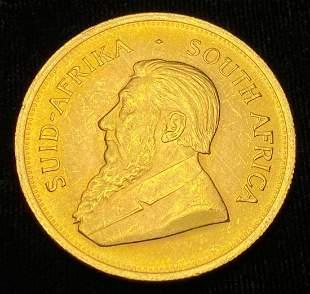 RARE 1970 1 OZ GOLD KRUGERRAND