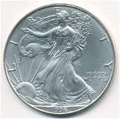 1996 American Silver Eagle MS69