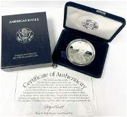 BETTER YEAR PROOF AMERICAN SILVER EAGLE 1998