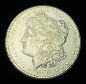 1901S Morgan Silver Dollar MS63