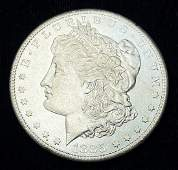 1885S Morgan Silver Dollar MS63