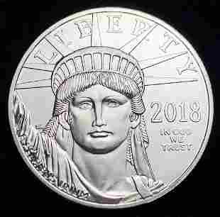 2018 1 Oz. American Platinum Eagle
