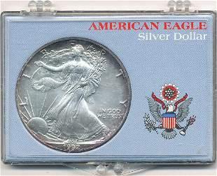1992 American Silver Eagle MS69