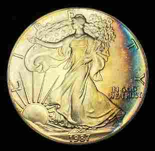 1987 American Silver Eagle..Fabulous!!!!!!!!!!