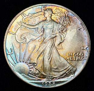 1988 American Silver Eagle..Fabulous!!!!!!!!!!