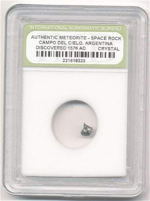 16th Century Certified Meteorite With Certificate