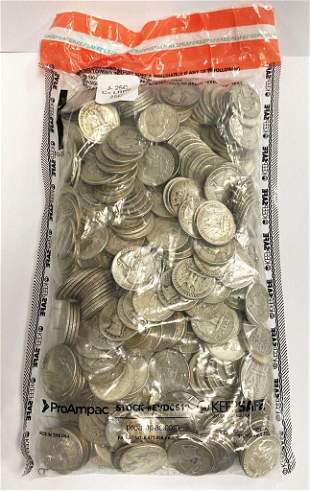 $100 Face Value 90% Silver Quarters (400 Coins)