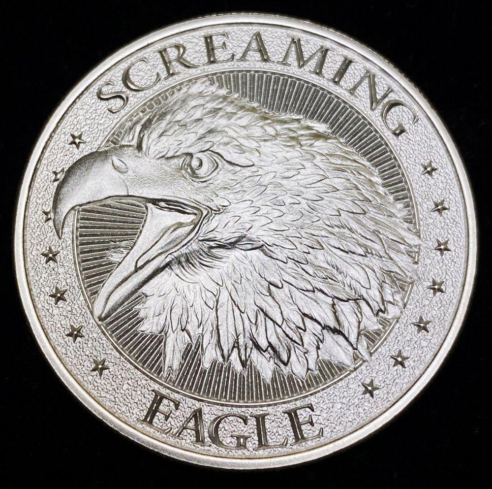 Intaglio Mint 1 Oz. Silver Screaming Eagle
