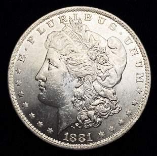 1881-O Morgan Silver Dollar MS64