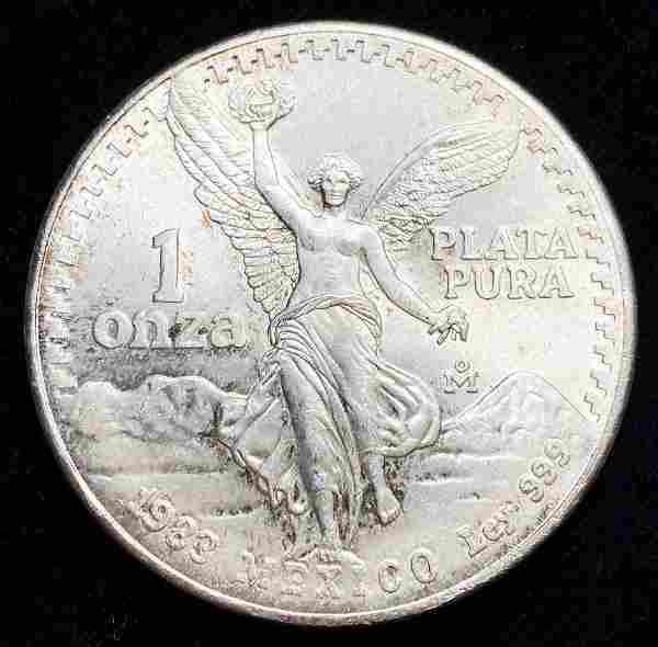 Rare 1 oz Mexican Libertad 1983