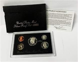 1992 United States Mint Silver Proof Set OGP
