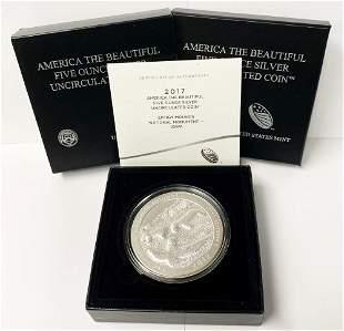 ATB 5 oz. Silver Collector Coin 2017 Iowa OGP