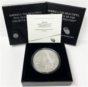 ATB 5 oz. Silver Collector Coin 2014 Florida OGP
