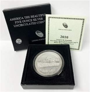 ATB 5 oz. Silver Collector Coin 2010 Oregon OGP