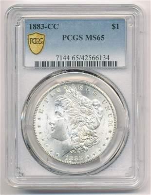 1883-CC Carson City Morgan Silver Dollar PCGS MS65