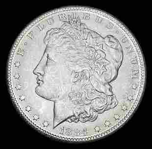 GSA CC Carson City 1884 Morgan Silver Dollar MS63