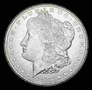 GSA CC Carson City 1883 Morgan Silver Dollar MS65