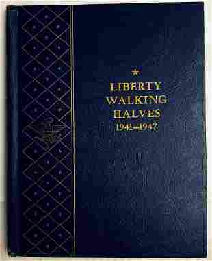 Complete Liberty Walking Halves Collection XF