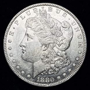 """1880-O Micro """"O"""" Morgan Silver Dollar"""
