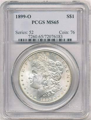 Hot Morgan Silver Dollars! 1899-O PCGS MS65