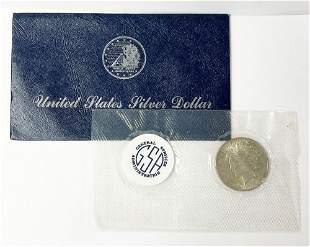 Rare Soft Pack GSA Peace Silver Dollar 1923 MS63