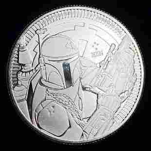 (1) New Zealand Mint 2020 NIUE Star Wars Silver 1oz BU