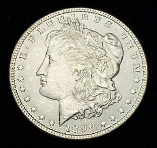 1896 Morgan Silver Dollar MS64/65