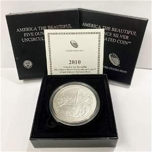ATB 5 oz. Silver Collector Coin 2010 Arizona