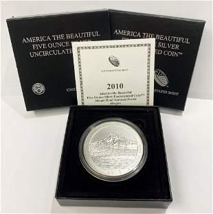 ATB 5 oz. Silver Collector Coin 2010 Oregon
