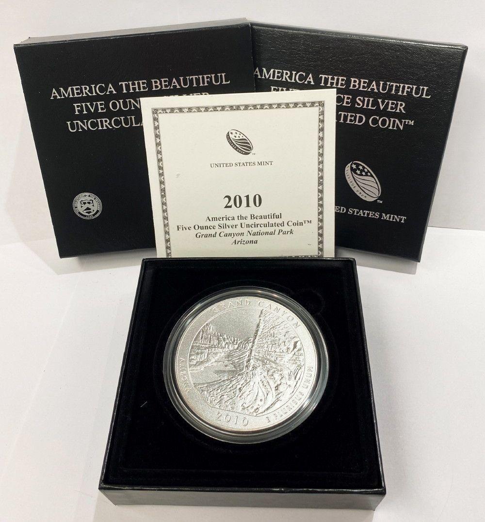 ATB 5 oz. Silver Collector Coin 2010 Alaska