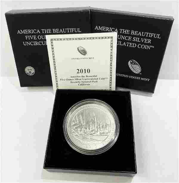 ATB 5 oz. Silver Collector Coin 2010 California